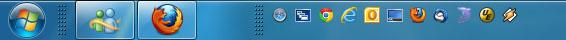 Barra inicio rápido Windows 7