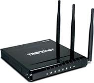 Foto de un router wifi