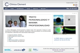 Proyecto web Clínica Clement