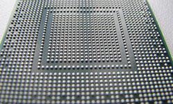 Reballing o colocación de las bolas al chip gráfico
