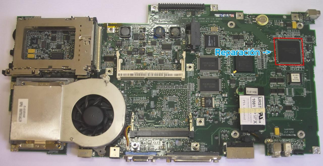 Reparación de placas base de portátil Torrellano – Elche – Tecnocartucho –  Tienda de informática Torrellano – Elche   Reparaciones, consumibles y  componentes informáticos