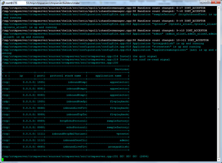 CRTMP Server