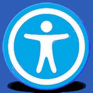 Icono accesibilidad web
