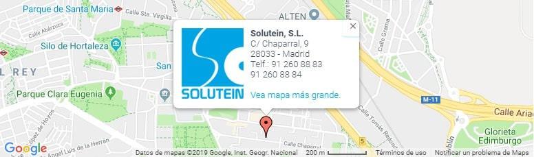Mapa ubicación Solutein