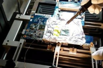 Reballing portátil HP