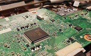 Reparación placa base de portátil